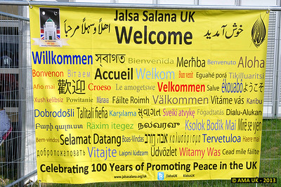 JA3_4190 The Jalsa Salana UK 2013 welcomes all its guests from all over the world.