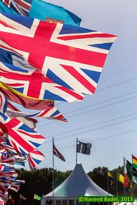 Jalsa Salana 2013 - Day 2 -5 Flags
