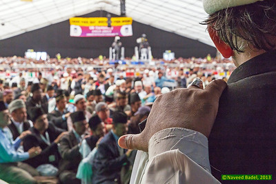 Jalsa Salana 2013-57 International Bai'at ceremony.