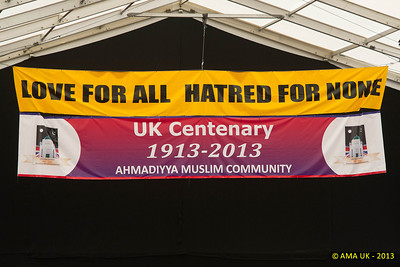 JA3_4313 The Ahmadiyya global message and celebration of UK Centeneary
