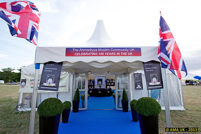 IA6_8047 The UK Centenary exhibition at the Jalsa Salana.