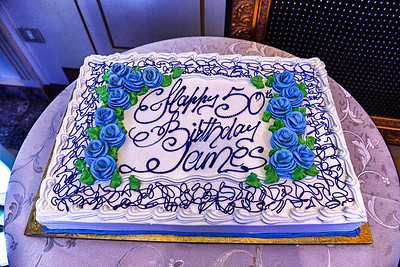 James 50th Party