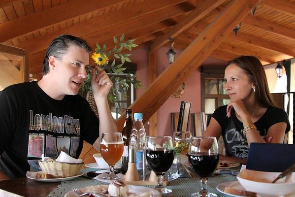 James and Irina Engaged in Vitebsk Belarus!