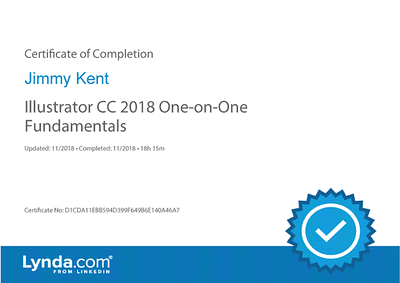 Certificate of Completion #01