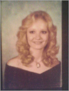 1980 - my Senior Grad Pic - wish I still had that much hair - i only weighed 93 pounds
