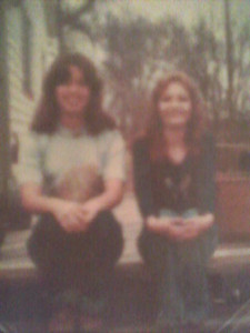 the 70's - my best friend Loren and me when we were in High School - I sure was thin way back then