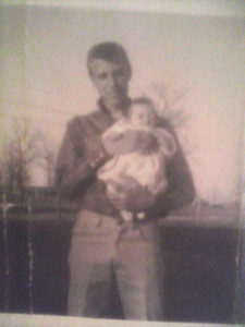 1962 - my Uncle Billy Ray holding me