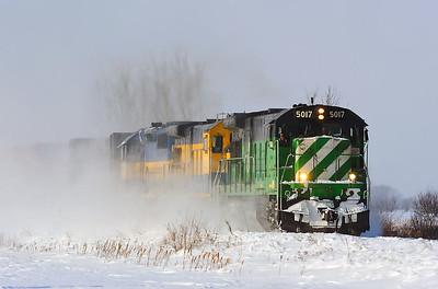 Montreal Maine & Atlantic, #606, L'Acadie, Qc