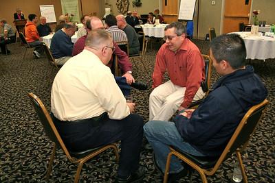 Br. Frank Presto in small group
