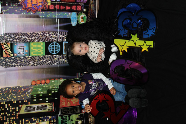 Happy New Year 2013  Madison Johnson and Mason Vandergrift, children of Chris and Julie Vandergrift; grandchildren of Patti Safford<br /> <br /> Photographer's Name: Patti Safford<br /> Photographer's City and State: Anderson, Ind.