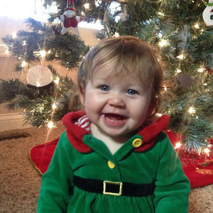 Addison Danielle, the XMas Elf!  Photographer's Name: Taina Chadwick-DeShon Photographer's City and State: Pendleton, IN