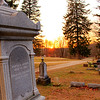 graveyard sunset Angola, In.<br /> <br /> Photographer's Name: gregory  walls<br /> Photographer's City and State: alexandria, IN