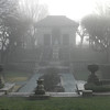 foggy morning Jan.12th. Inn at Irwin Gardens Columbus,IN<br /> <br /> Photographer's Name: Jan Baker<br /> Photographer's City and State: Daleville, IN