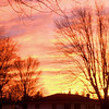 January 16, 2013, sunset in southeast Anderson.<br /> <br /> Photographer's Name: Rose Evans<br /> Photographer's City and State: Anderson, IN