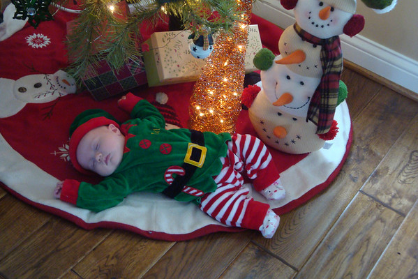 Granddaughter Marin Hope 's 1st Christmas Eve<br /> <br /> Photographer's Name: Vicki Walukonis<br /> Photographer's City and State: Anderson, IN