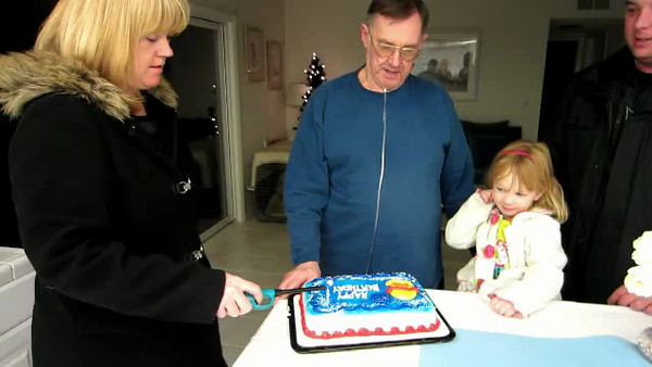 "Video:  Singing ""Happy Birthday"" to Joe on 72nd BD"