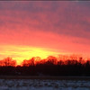 Sunset Friday, Jan. 24 off 450 East .<br /> <br /> Photographer's Name: David Phillips<br /> Photographer's City and State: Anderson, Ind.