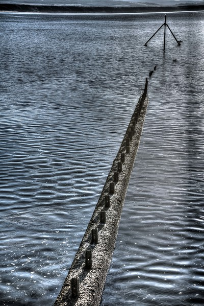 Breakwater at Burghead - 21st January