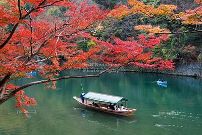 Fall in Arashiyama