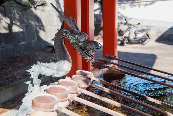 Gosha Shrine in Hamamatsu, Japan