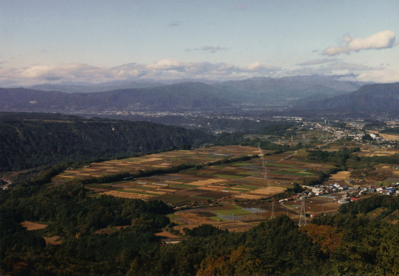 An expansive view of (I think) Numata City, from Gunma Prefecture. The riding at this time was hard, because it was cold, and I didn't know much about long-range motorcycle touring, so I made a lot of mistakes. But it was also incredibly rewarding.
