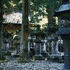 Stone lanterns at Nikko.