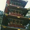 A 5-story pagoda at Nikko.