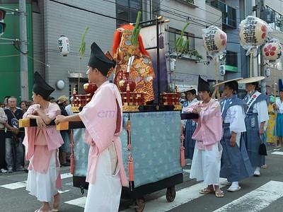 Japan Osaka Tenmengu Matsuri