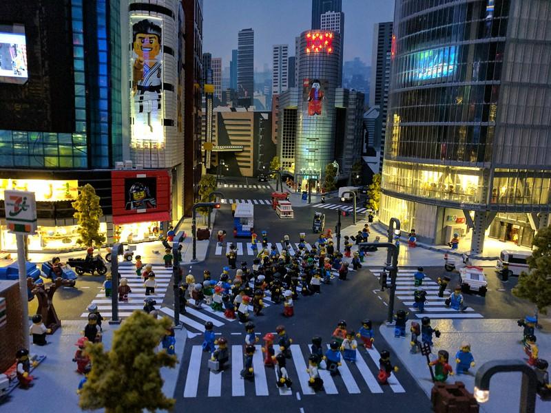 Lego Shibuya crossing