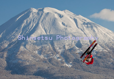 Freestyle skier, Niseko, Japan(MR)