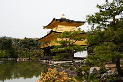 Le Pavillon d'Or (Kinkaku-ji), Kyoto, 2014.