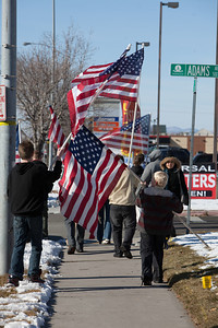 Shots from the funeral service for Officer Jared Francom. January 11th, 2012 Ogden, Utah