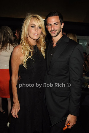 Dina Lohan, Mike Satsky photo by Rob Rich © 2008 516-676-3939 robwayne1@aol.com