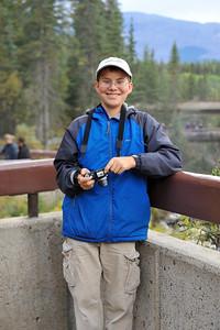 Camping Trip, Jasper AB, Sept. 2009 Athabasca Falls