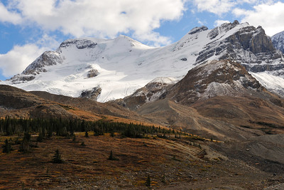 Camping Trip, Jasper AB, Sept. 2009 Icefields Parkway, Athabasca Glacier