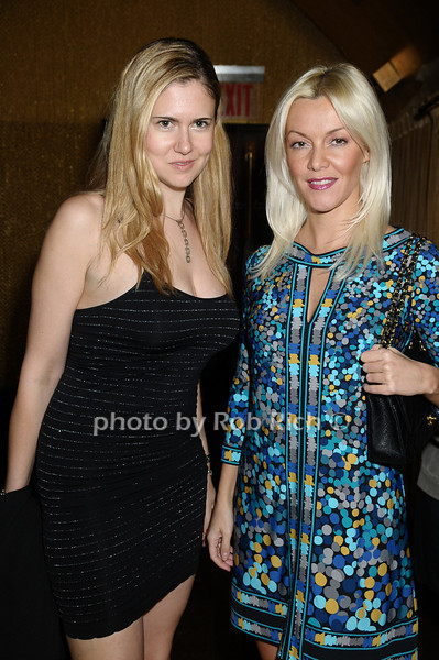 Anika Gajovic, Tinka Milinovic<br /> photo by Rob Rich © 2009 robwayne1@aol.com 516-676-3939