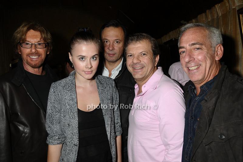 Rocco Ancarola with friends<br /> photo by Rob Rich © 2009 robwayne1@aol.com 516-676-3939