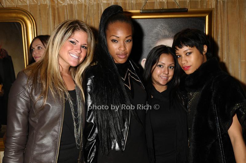 Jozi Yalango, Jasmine Ziana, Ambee Rodriguez, Alicia King<br /> photo by Rob Rich © 2009 robwayne1@aol.com 516-676-3939