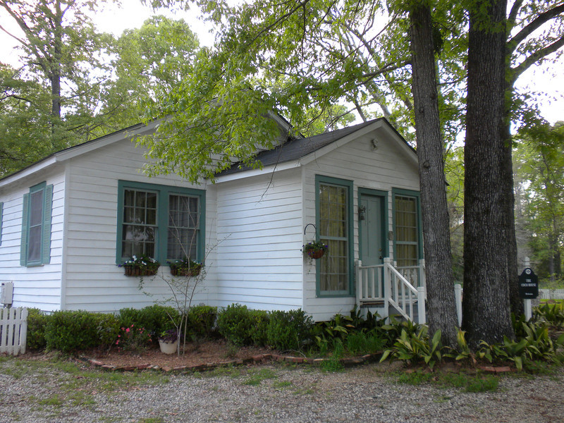 Our lodgings.  Coco House at the Myrtles Plantation.