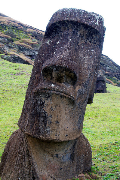 DSC_9136. Mo'ai sculpture at quarry