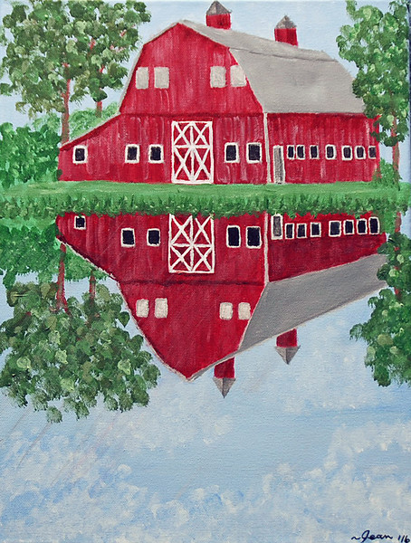 Barn reflections
