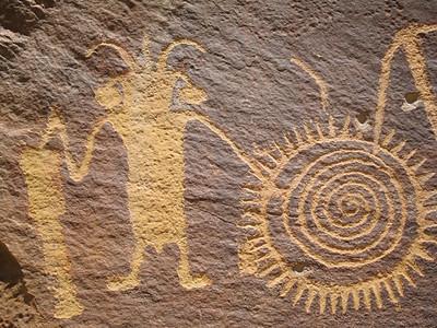 Freemont Petroglyph, Dinosaur Monument, CO