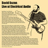 Final version of album review for David Bazan: Live At Electric Audio.