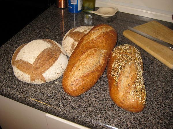 Jen made bread