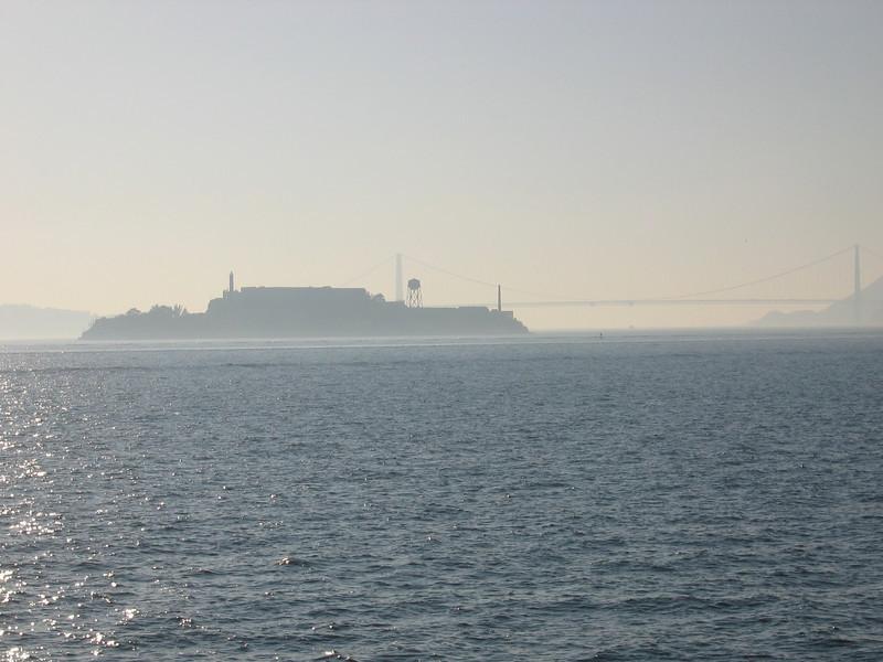 Alcatraz and the Golden Gate