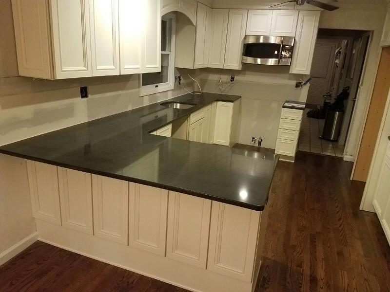 Granite counters installed December 19, 2016