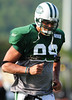 August 6, 2010: Cortland, NY: USA:  New York Jets defensive lineman Jason Taylor (99) during training camp at SUNY Cortland. Photo credit-Rich Barnes