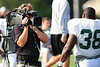 "August 6, 2010: Cortland, NY: USA:  HBO film crew ""Hard Knocks"" during Jets training camp at SUNY Cortland. Photo credit-Rich Barnes"