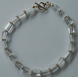 Bracelet-QuartzCrystalSS