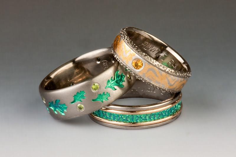 Photos of jewelry by Exotica Jewelry, Clarkdale, AZ, photographed in Clarkdale, AZ 9/2909